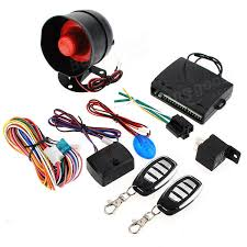1 way car alarm protection security system keyless entry siren 2