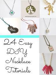 diy picture necklace images 24 easy diy necklace ideas jpg