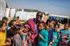 unicef siege unicef goodwill ambassador angelique kidjo meets syrian and lebanese