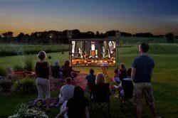 diy backyard movie night u2013 projection screens stream tv u0026 media