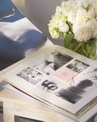 Bridal Shower Photo Album Diy Wedding Memory Keeping Martha Stewart Weddings