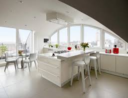 Contemporary Kitchen Island And Dining Table Combination Google - Kitchen with breakfast table