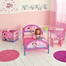 kids room ideas minnie mouse small rounded pink rug in a box