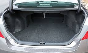2017 Toyota Camry Cargo Space And Storage Review Car And Driver