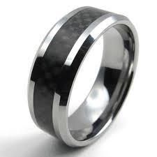 alliance pour homme konov bijoux bague homme fiançailles fibre de carbone
