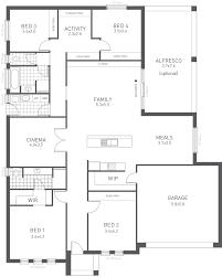 Ideal Homes Floor Plans New Home Designs The Design Ten Weeks U0026 Macklin Homes