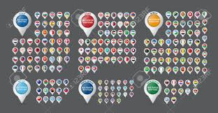 Flag Of All Countries Flags All Countries On Map Cincinnati Premium Outlets Map Positano
