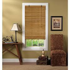 Bamboo Curtains For Windows Roll Up Window Blinds