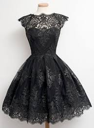lace dress lace dress black bustier style bodice vintage style cap sleeve