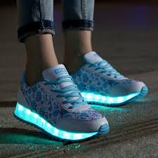 ladies light up shoes 2016 high quality ladies led shoes woman fashion light up women