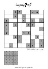 sudoku puzzle to print 4