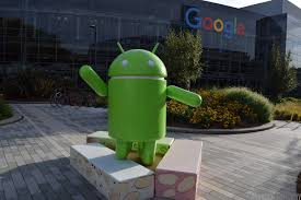 android statues visiting googleplex what s open to the what s it like