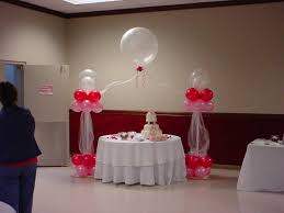 Birthday Home Decoration Simple Ballon Decoration With Sweet Cake Side Simple Glass On
