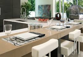 kitchen table setting ideas modern table setting ideas brilliant 27 modern dining table setting