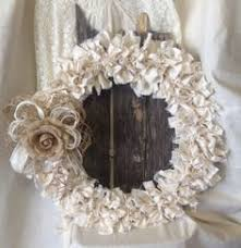 wedding wreath wedding door wreath shabby chic bridal shower