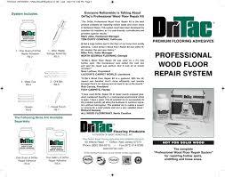 Wood Floor Repair Kit Flooring101 Dritac Floor Repair Kit Buy Hardwood Floors And
