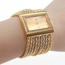 bracelet watches online images Women 39 s bracelet watch japanese quartz imitation diamond copper jpg