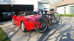 porsche bicycle bird automotive bike rack