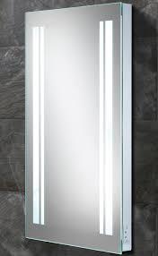 hib nexus led back lit mirror with shaver socket 77418000