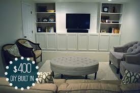 Built In Tv Bookcase Diy Built Inlemon Grove Blog Lemon Grove Blog
