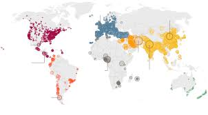 Uk World Map by Air Pollution Rising At An U0027alarming Rate U0027 In World U0027s Cities