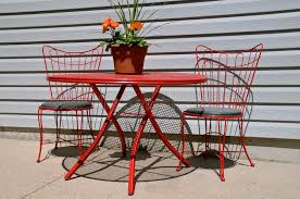 outdoor porch table and chairs stock image image of flowers