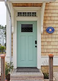 How To Paint Exterior Door What Color To Paint My Front Door Before U After A Pretty Front