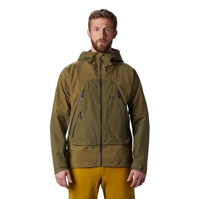 Mountain Hardwear High Exposure Gore-Tex C-Knit Jacket Combat Green Small 1851351353-S