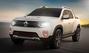 renault dacia sandero duster oroch crew cab ute concept to debut in sao paulo