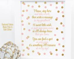 baby shower sign in book guest book sign etsy