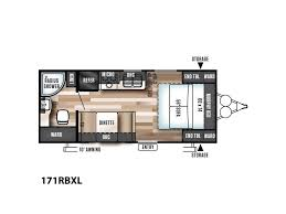 Wildwood Travel Trailer Floor Plans 2018 Forest River Wildwood X Lite 171rbxl Elkins Wv Rvtrader Com
