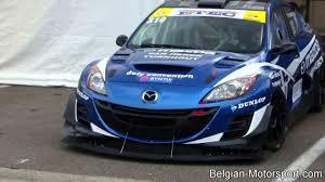 mazda sports car list mazda 3 sedan 20b racecar first race of 2013 zolder youtube