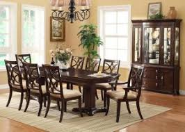 Transitional Dining Room Sets Dining Room Set In Dark Cherry - Transitional dining room chairs