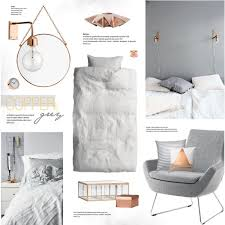 Nur Home Decor Copper U0026 Grey By Bellamarie On Polyvore Featuring Interior