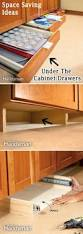 best ideas about space saving pinterest apartment create extra storage from the unused space underneath cabinets whoa this coolest thing seen last six years