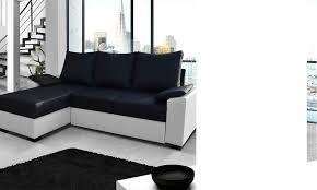 canape d angle bicolore canape d angle bicolore avec coffre et couchage