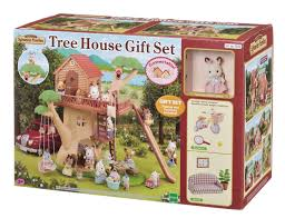 house gift sylvanian families tree house gift set