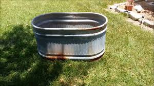 diy water trough planters youtube