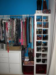 perfect closet ideas with luring decor of hanging clothes wardrobe