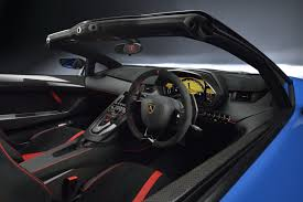 inside lamborghini lamborghini aventador sv roadster unveiled at the quail will cost