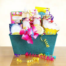 birthday baskets for birthday cake batter spa delight baskets for