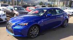 lexus is350 for sale canada new ultrasonic blue mica 2015 lexus is 250 awd f sport series 2
