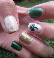 nail designs for march st patricks day nail design sally hansen