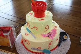 photo bridal shower sheet cake image