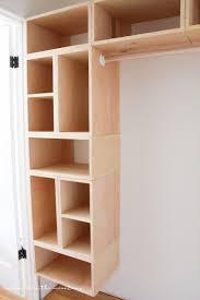 diy custom closet organizer the brilliant box system custom