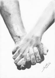 holding hands drawing logo simple touch pinterest hand