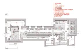 floor plan restaurant gallery of zen sushi restaurant carlo berarducci architecture