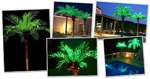 lighted palm trees led lighted palm trees light up palm trees