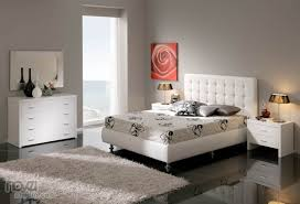 White Modern Bedroom Sets Modern Bedrooms - White leather contemporary bedroom furniture