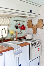 Camper Trailer Kitchen Ideas 192 Best Vintage Trailers Camping And Glamping Images On